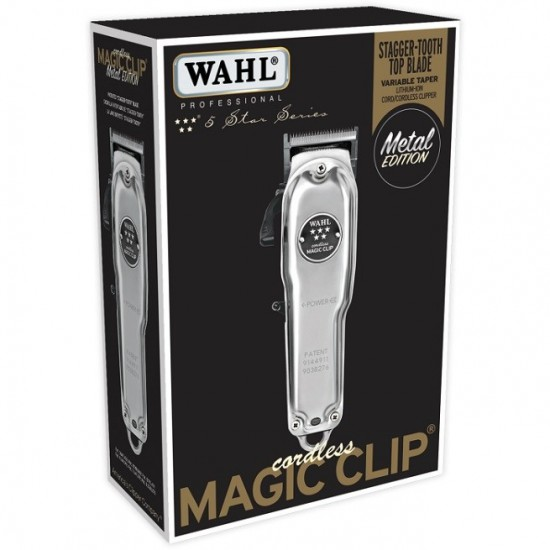 Tông đơ Wahl Cordless Magic Clip Metal Edition